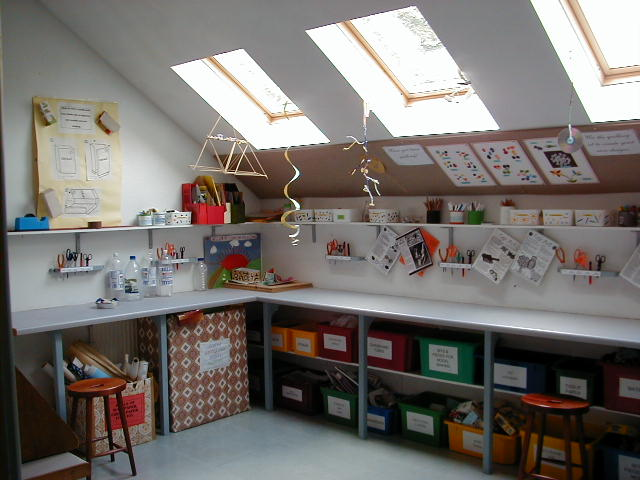 Craft room 6 of 24 - Small space craft room model ...